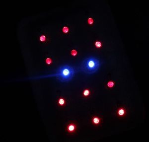 Glowing LEDs